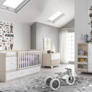 Dormitorio juvenil infantil