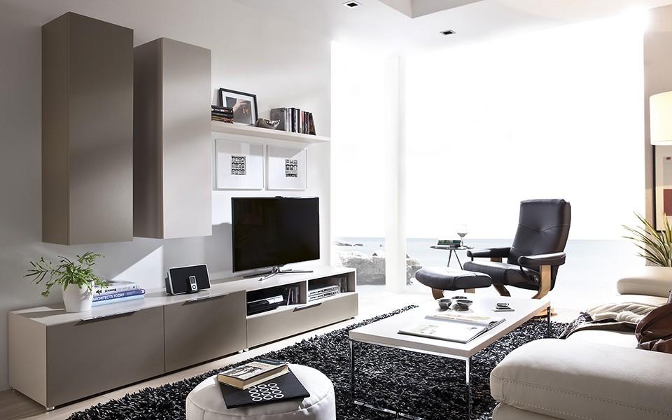 Salones Modernos Muebles Isa - Salones-modernos