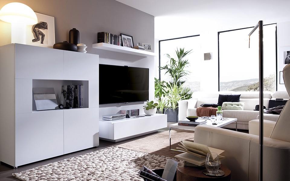 Salones modernos muebles isa - Modulos para salones modernos ...