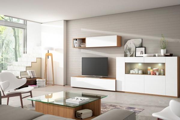 Salones modernos muebles isa for Salones modernos madrid