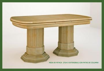 Mesas clásicas